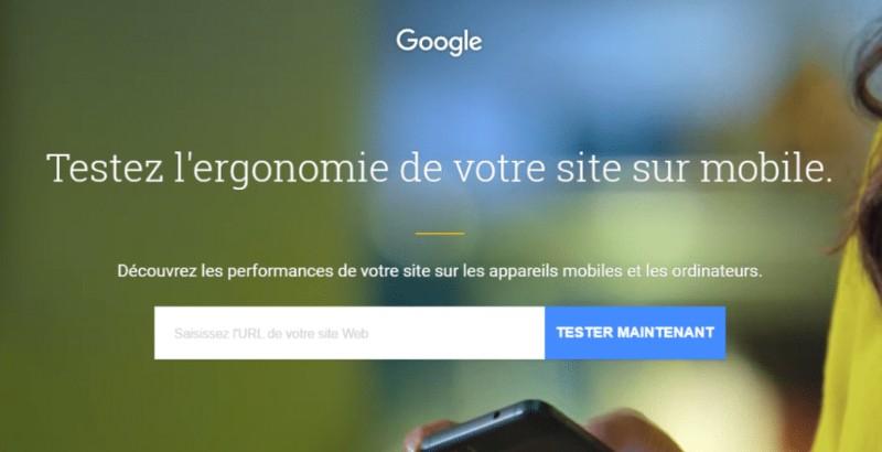 Testez la vitesse de votre site sur mobile